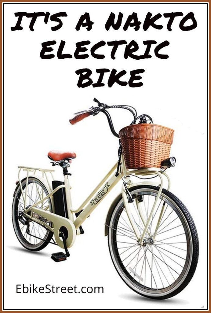 Nakto camel electric bike