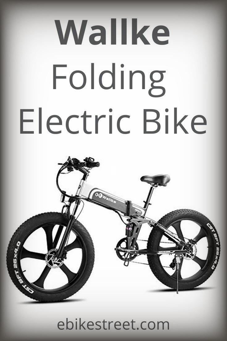 Wallke folding aluminum electric bike